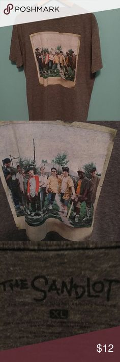 Urban Outfitters The Sandlot t shirt XL Fashionable, lightweight tee featuring a picture of the whole gang from The Sandlot. Urban Outfitters Shirts Tees - Short Sleeve