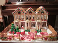 sew for a home   How to Make a Gingerbread House That Will Make Everyone Claw Off Their ...