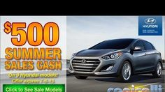 For a limited time, #Hyundai is offering $500 Summer Sales Cash on select New 2015 and 2016 Hyundai vehicles @conicelli Hyundai in #Conshohocken http://www.conicellihyundai.com/hyundai-bonus-cash.htm **To qualified buyers on select vehicles. Offer expires July 6, 2015. Contact #Conicelli Hyundai at 1-888-Conicelli for details on this and any other offers you may qualify for.**