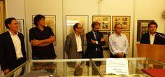Inauguració de la Fira, Joaquim Bejarano, Didier Lourenço, regidors del districte, Albert Obradors i Jordi Coca