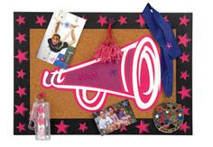 cute cheer bulletin board... could I make something like this?
