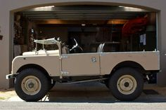 Land Rover 1955 Series 1,  Maintenance/restoration of old/vintage vehicles: the material for new cogs/casters/gears/pads could be cast polyamide which I (Cast polyamide) can produce. My contact: tatjana.alic@windowslive.com
