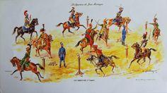 El carrusel (Grabado de Eugène Leliepvre)