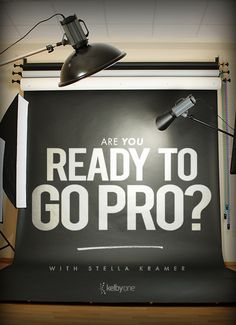 "Want to become a professional photographer? Stella Kramer shows you how to get started, where to find opportunities, how connect with prospective clients and what steps you should be taking in her brand new class ""Are You Ready To Go Pro?"" Get on the right path today: http://kel.by/SKramer-go-pro-photography"