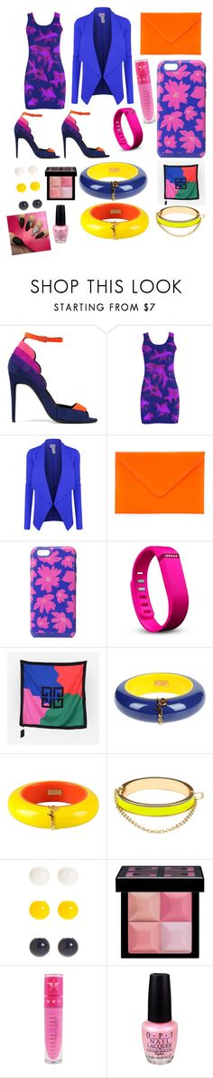 """""""Heaven"""" by voiceboxcouture ❤ liked on Polyvore featuring beauty, Pierre Hardy, LE3NO, Under Cover, Vera Bradley, Fitbit, Givenchy, Dsquared2, CC SKYE and Kim Rogers"""