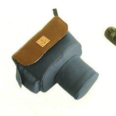 Canvas DSLR Camera Case Bag - Canon Camera Case Bag - Nikon Camera Case Bag