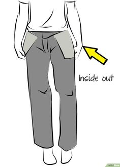 How to Taper Trouser Legs. Tapered trousers are stylish and they can make an outfit look much more polished. However, trousers are often loose-fitting and hiring a professional tailor to fit them for you can be expensive. Tapered Trousers, Tapered Jeans, School Pants, Bonnet Pattern, Sewing Pants, Linen Trousers, Type Of Pants, Straight Stitch, Felt Fabric