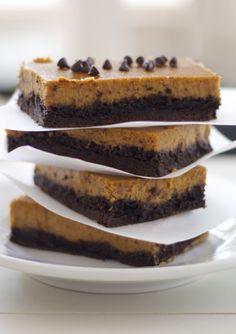 Pumpkin Pie Chocolate Bars #FallIntoAutumn