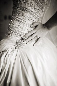 absolutely floored by the detail on this dress.  wish i knew the designer