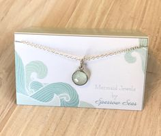 A personal favorite from my Etsy shop https://www.etsy.com/listing/545597650/mermaid-jewels-necklace-sterling-silver