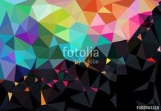 """Descargue el vector libre de derechos """"Geometric background"""" creado por Ruiponche al precio más bajo en Fotolia.com. Explore nuestro económico banco de imágenes para encontrar el vector perfecto para sus proyectos de marketing."""