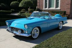 Mother & Daddy, Wouldn't I look so cool driving this car? ~Paige 1956 Thunderbird
