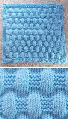 Baby Knitting Patterns, Free Baby Blanket Patterns, Crochet Blanket Patterns, Crochet Stitches, Crochet Ideas, Afghan Patterns, Easy Knit Baby Blanket, Knitted Baby Blankets, Blanket Yarn
