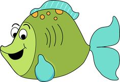 FISH CLIP ART | cartoon fish clip art image fun green cartoon fish with big eyes a ...