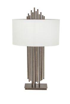 Vienna Dark Antique Brass Table Lamp