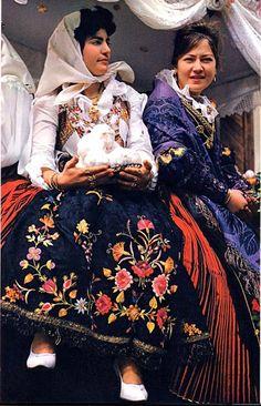 Sardinian Costume  around  Cagliari