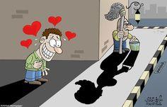 El amor es ciego. #compartirvideos #videowatsapp #imagenesdivertidas