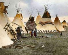 インディアン(ネイティブ・アメリカン)の貴重なカラー化写真 (23) もっと見る