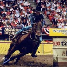Scamper...an amazing barrel horse that passed away at 35