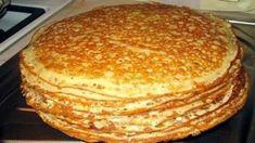 Tento recept na palacinky mám z jednej reštaurácie: Stačí pridať jednu TAJNÚ INGREDIENCIU a budú nadýchané a jemné ako obláčik. Russian Dishes, Russian Recipes, Baking Recipes, Cookie Recipes, Vegan Recepies, Good Food, Yummy Food, Sweets, Pancakes