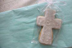 Cross Cookies 1 dozen by TreatMeSweetCookies on Etsy, $42.00