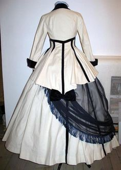 Crinoline Dress Back