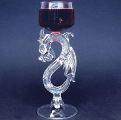 Hey, I found this really awesome Etsy listing at https://www.etsy.com/listing/74882538/dragon-wine-glass-hand-blown-crystal