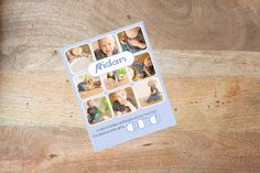 INSTANT DOWNLOADABLE Cake Smash Storyboard Template for Photoshop by DigiStock on Etsy