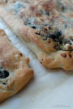 Zaatar, ένα φανταστικό επίπεδο ψωμί από την Παλαιστίνη -idiva.gr Food Displays, Bread Baking, Cheesesteak, Deserts, Food And Drink, Vegan, Chicken, Ethnic Recipes, Breads