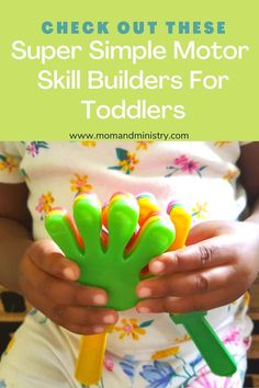 Simple fun for toddlers. Build fine and gross motor skills, with these simple activities some of which require very little preparation. Check Them Out Right Here! Fun Activities For Toddlers, Gross Motor Activities, Gross Motor Skills, Games For Kids, Children Games, Toddler Playroom, Montessori Toddler, Montessori Activities, Toddler Toys