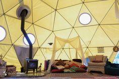 Eco-living Dome Home Jackson Wellsprings Goddess Temple, Ashland, OR