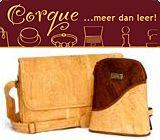 Corque - milieuvriendelijke tassen, sieraden van kurk