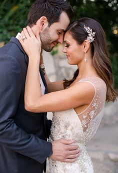 Maggie Bride, Desiree Hartsock, wearing Swarovski crystal reception dress Zarina by Maggie Sottero