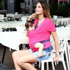 Comfortable Infant Wrap Natural Cotton Hipseat Baby Sling Carrier Backpack Pouch for Postpartum Newborn Birth to 35Lbs