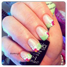 Spring nails done by Sokny nails