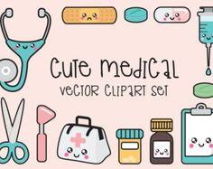 Premium Vector Clipart  Kawaii Cleaning by LookLookPrettyPaper