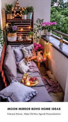 Small Balcony Design, Small Balcony Garden, Small Balcony Decor, Outdoor Balcony, Small Patio, Patio Balcony Ideas, Condo Balcony, Modern Balcony, Porch And Balcony