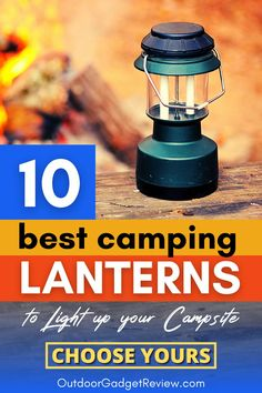 We have reviewed the 10 Best LED Camping Lanterns of 2020 to help you choose the best lantern which is a reliable source of light for when you are camping, hiking, hunting, fishing, backpacking or at home. Choose Now!