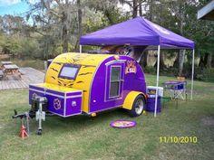 lsu camper | Class A • Tailgating Teardrop Camper - Louisiana Sportsman ...