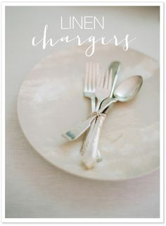 #diy, #silverware, #chargers, #dishes, #plates, #linen, #neutral, #white    Read More: http://www.stylemepretty.com/living/2013/11/13/the-best-ever-guide-to-thanksgiving/