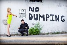 Just in case you and Kevin needed ideas for engagement photos.) The 25 Most Hilariously Awkward Engagement Photos You'll Ever See Funny Engagement Photos, Engagement Humor, Engagement Ideas, Engagement Shots, Country Engagement, Engagement Inspiration, Funny Baby Images, Funny Pictures For Kids, Couple Pictures