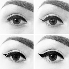 Perfect 60's make up