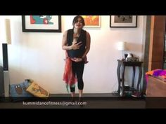 5 minute Full Body Workout Babywearing Indian Dance Video - YouTube