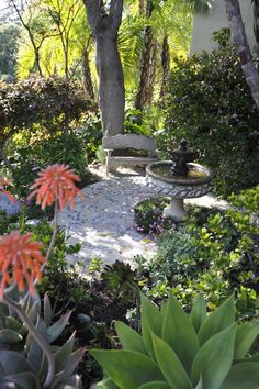 April Palmer - Landscape Design - Venice, CA Spanish Colonial, Spanish Style, Landscape Design, Garden Design, Roman Garden, Spanish Garden, Glazed Tiles, Backyard Retreat, Moorish