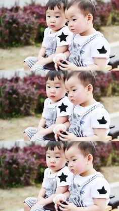 Superman Cast, Superman Kids, Cute Kids, Cute Babies, Song Il Gook, Triplet Babies, Korean Tv Shows, Song Triplets, Song Daehan