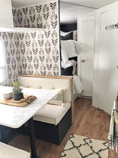 Camper remodel ideas house tours 63 Ideas for 2019 Rv Camping, Glamping, Camping Hacks, Camping Ideas, Camping Essentials, Family Camping, Retro Camping, Camping Style, Rv Hacks