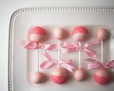 Cake Pop Baby Rattles - Baby Girl Shower - Projects Cakegirls