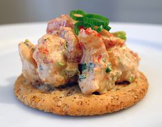 Crawfish Remoulade Salad - I have some leftover boiled crawfish. Some will be for a quiche, maybe try something like this with the rest.