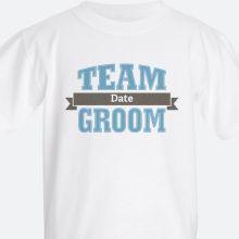 team groom Kids' T-shirts