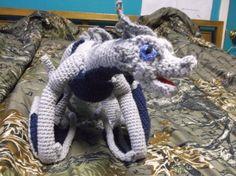 Amigurumi Dragon Wings : Red chinese crochet dragon amigurumi by salemsshop on etsy $20.00